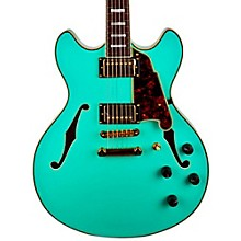 Excel Series DC Semi-Hollowbody Electric Guitar with Stopbar Tailpiece Sea Foam Green