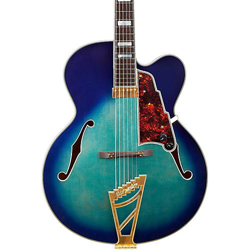D'Angelico Excel Series EXL-1 Hollowbody Electric Guitar with Stairstep Tailpiece-thumbnail
