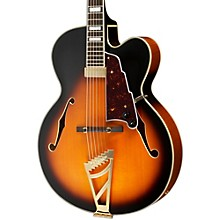 Excel Series EXL-1 Hollowbody Electric Guitar with Stairstep Tailpiece Vintage Sunburst