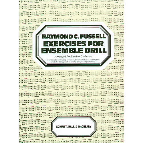 Alfred Exercises for Ensemble Drill Main Book