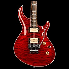 ESP Exhibition Custom Mystique w/Floyd Rose Tremolo Electric Guitar See-Thru Red