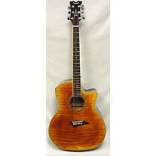 Dean Exhibition Flame Maple Acoustic Electric Guitar