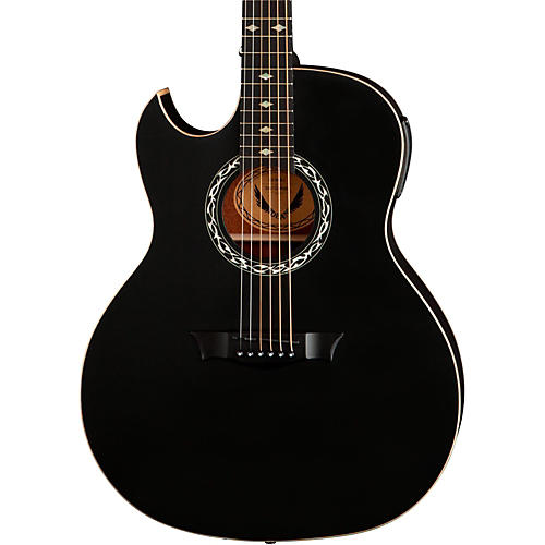 Dean Exhibition Left-Handed Acoustic-Electric Guitar-thumbnail