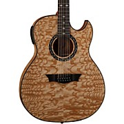 Dean Exhibition Quilt Ash 12-String Acoustic-Electric Guitar with Aphex