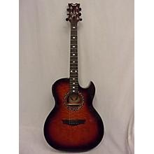Dean Exhibition Quilt Ash Acoustic Electric Guitar