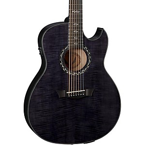 Exhibition Ultra 7-String Acoustic-Electric Guitar Transparent Black