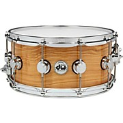 DW Exotic Figured Olive Ash Lacquer Snare