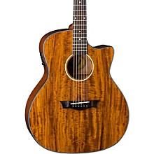 Dean Exotic Gloss Koa Cutaway Acoustic-Electric Guitar