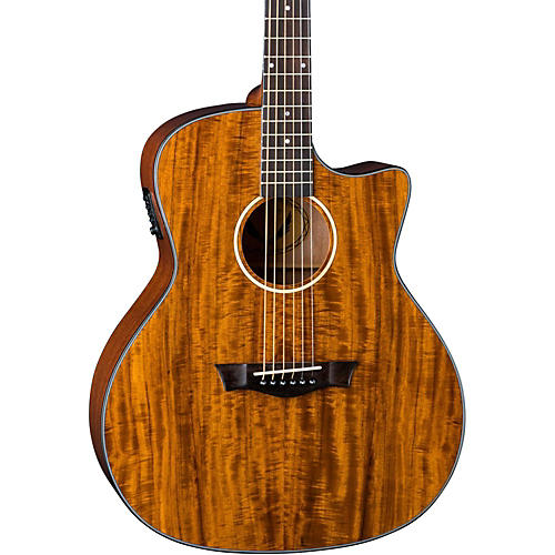 Dean Exotic Gloss Koa Cutaway Acoustic-Electric Guitar