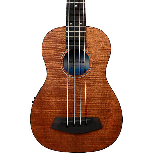 Kala Exotic Mahogany U-Bass Ukulele Bass Fretted