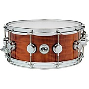 DW Exotic Redwood Stump Lacquer Snare