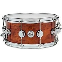 DW Exotic Sapele Pommele Lacquer Snare