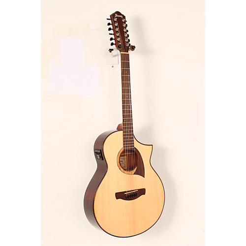 Ibanez Exotic Wood AEW2212CD-NT 12-String Acoustic-Electric Guitar-thumbnail