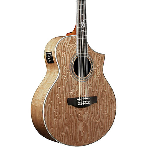 ibanez exotic wood series ew2012asent 12 string acoustic electric guitar gloss natural guitar. Black Bedroom Furniture Sets. Home Design Ideas