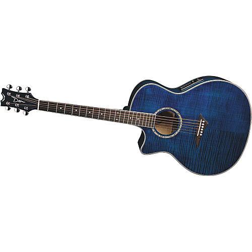 Dean Exotica FM Acoustic-Electric Guitar Left-Handed