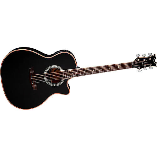 Dean Exotica Plus Solid Top Left-Handed Acoustic-Electric Guitar