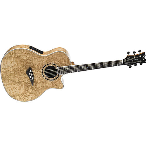 Dean Exotica Quilt Ash Acoustic-Electric Guitar