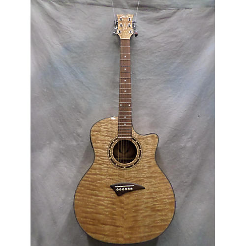 Dean Exotica Quilted Ash Acoustic Electric Guitar-thumbnail