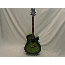 Dean Exotica Quilted Ash Acoustic Electric Guitar