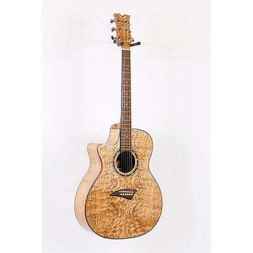 Dean Exotica Quilted Ash Left-Handed Acoustic-Electric Guitar-thumbnail