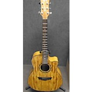 Dean Exotica Spalted Acoustic Electric Guitar