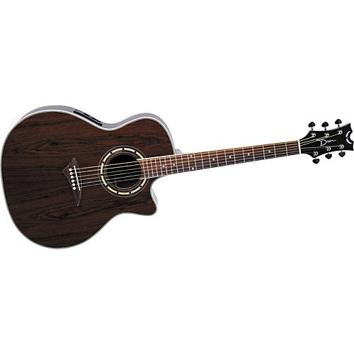 Dean Exotica Walnut Acoustic-Electric Guitar Natural