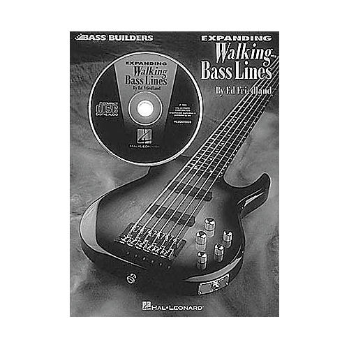 Hal Leonard Expanding Walking Bass Lines (Book and CD Package)-thumbnail