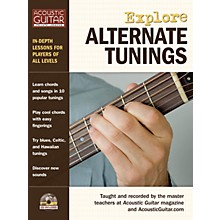 String Letter Publishing Explore Alternate Tunings String Letter Publishing Series Softcover with CD Written by Various