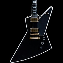 Gibson Custom Explorer Custom - Solidbody Electric Guitar Ebony 5-ply Black Pickguard