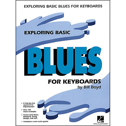 Hal Leonard Exploring Basic Blues for Keyboards
