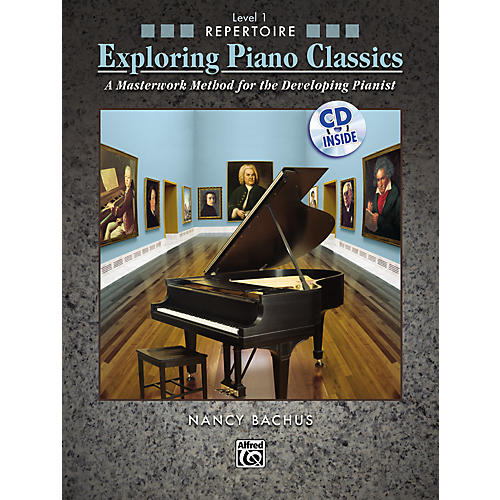 Alfred Exploring Piano Classics Repertoire Level 1