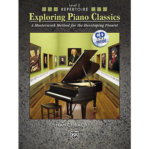 Alfred Exploring Piano Classics Repertoire Level 2-thumbnail