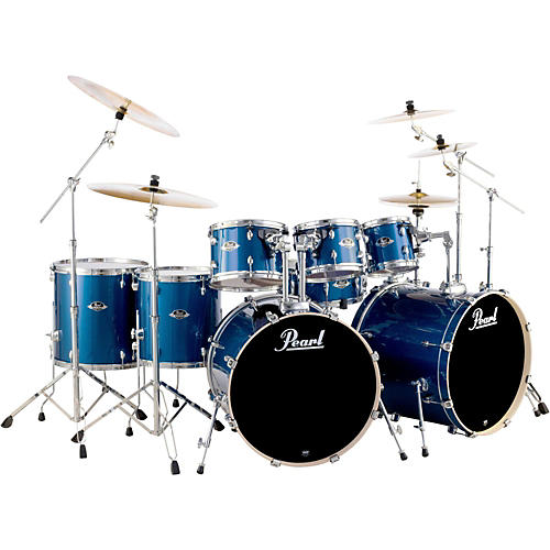 Pearl Export Double Bass 8-Piece Drum Set-thumbnail