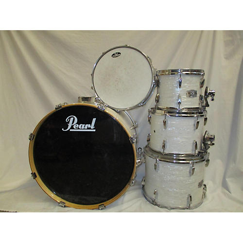 used pearl export drum kit white guitar center. Black Bedroom Furniture Sets. Home Design Ideas