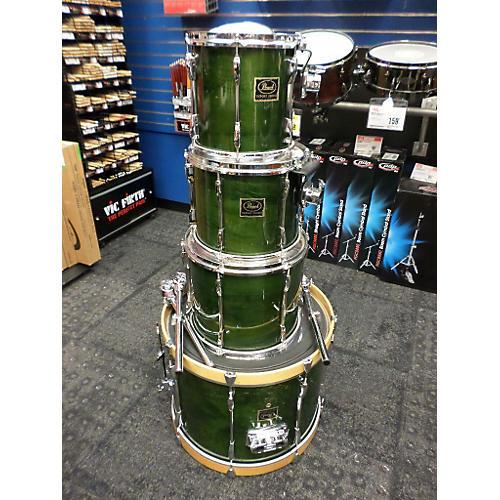 Pearl Export ELX Fusion Drum Kit Green Mist