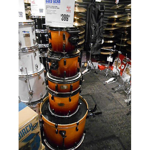 Pearl Export Series Drum Kit 2 Color Sunburst