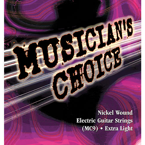 Musician's Choice Extra Light Electric Guitar Strings