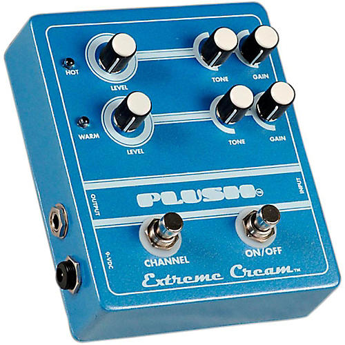 Plush Extreme Cream Overdrive Guitar Effects Pedal-thumbnail