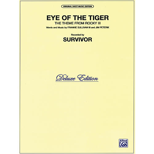 Alfred Eye of the Tiger (Theme from Rocky III) Piano/Vocal/Chords-thumbnail