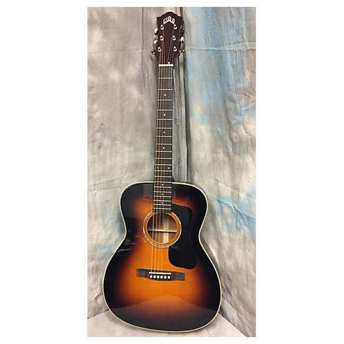 Guild F-130SB Acoustic Guitar 2 Color Sunburst