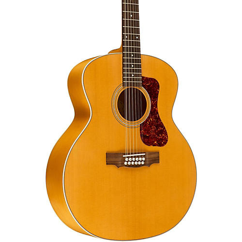 Guild F-2512E Deluxe 12-String Acoustic-Electric Guitar-thumbnail