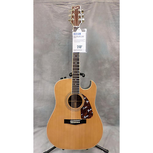 Fender F-270SCE Natural Acoustic Electric Guitar-thumbnail