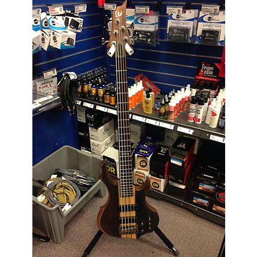 ESP F-5-E Electric Bass Guitar-thumbnail