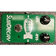 Subdecay F-bomb Effect Pedal