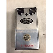 Rothwell F1 Booster Effect Pedal