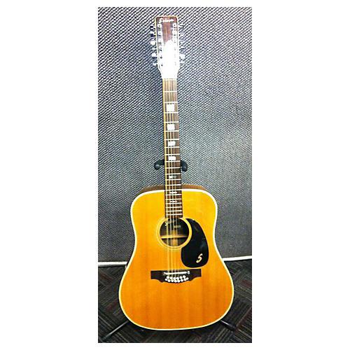 used sekova f2020 12 string acoustic guitar guitar center. Black Bedroom Furniture Sets. Home Design Ideas