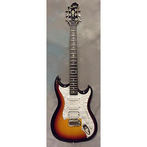 Hagstrom F301 Solid Body Electric Guitar 3 Tone Sunburst