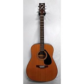 Used yamaha f310 acoustic guitar natural guitar center for Yamaha fs 310 guitar