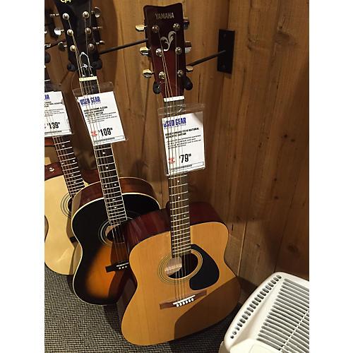 Yamaha F310 Natural Acoustic Guitar-thumbnail