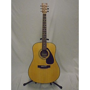 Guitarcenter Yamaha F Acoustic Guitar Natural   Gc